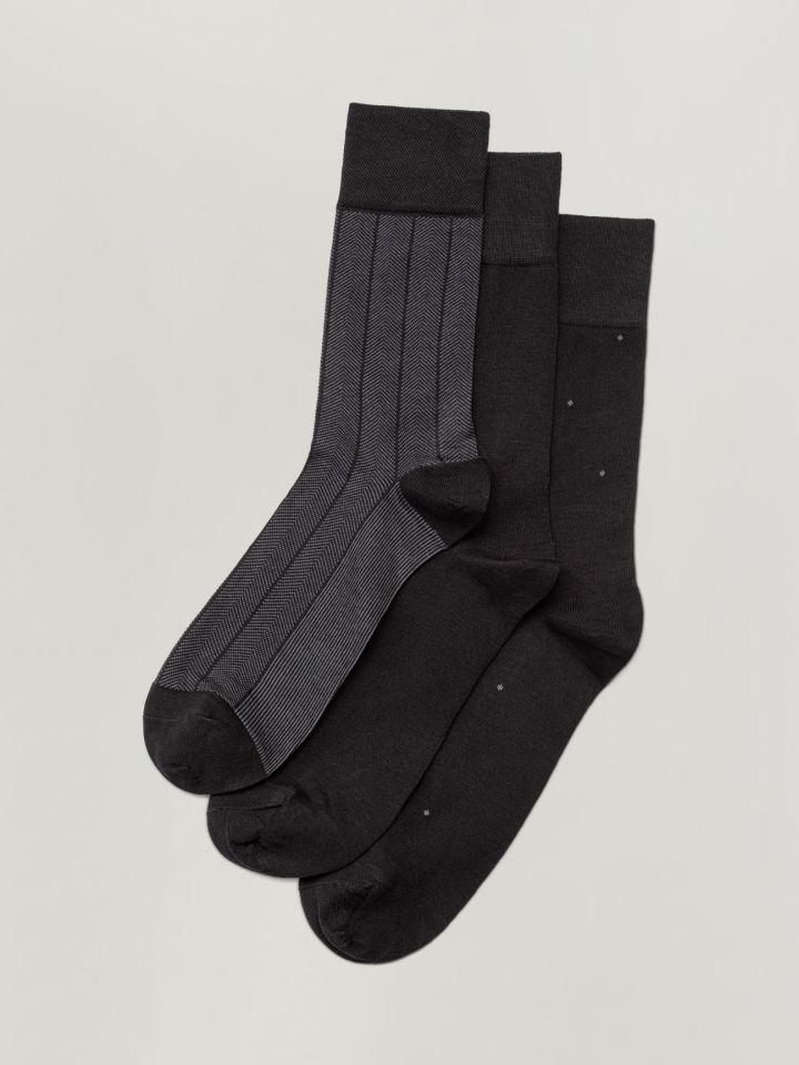 מארז 3 גרביים Patterned