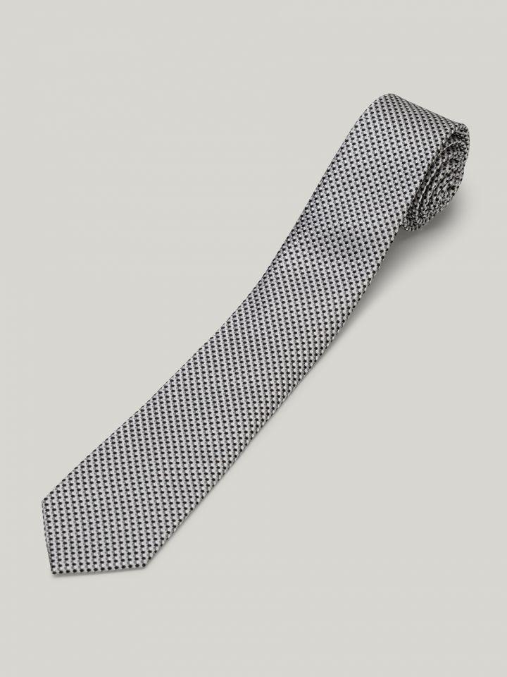 MAX MORETTI עניבת משי ג'קארד
